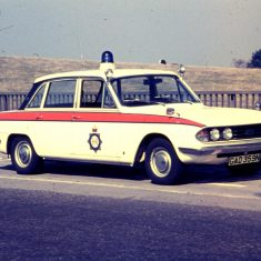 Triumph 2.5 PI motorway car 1974. (Gloucestershire Police Archives URN 10349)