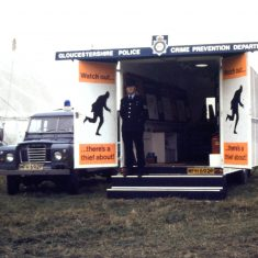 Crime Prevention Department van 1975.(Gloucestershire Police Archives URN 10354)