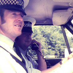 Fred Price and  Hamish Pirie. (Gloucestershire Police Archives URN 10373)