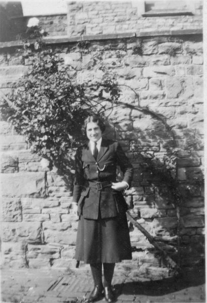 Woman Police Constable at Staple Hill. (Gloucestershire Police Archives URN 10453) | Photograph from Ray Ricketts