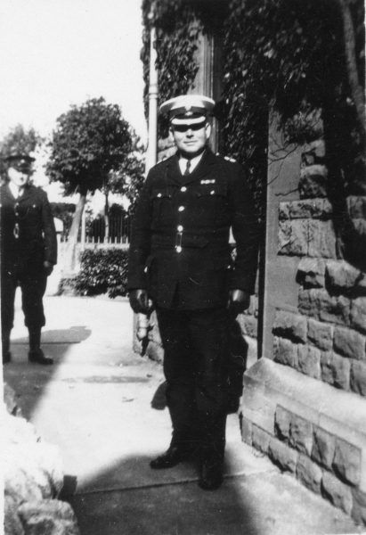 Deputy Chief Constable at Staple Hill probably after 1936 (Gloucestershire Police Archives URN 10455) | Photograph from Ray Ricketts