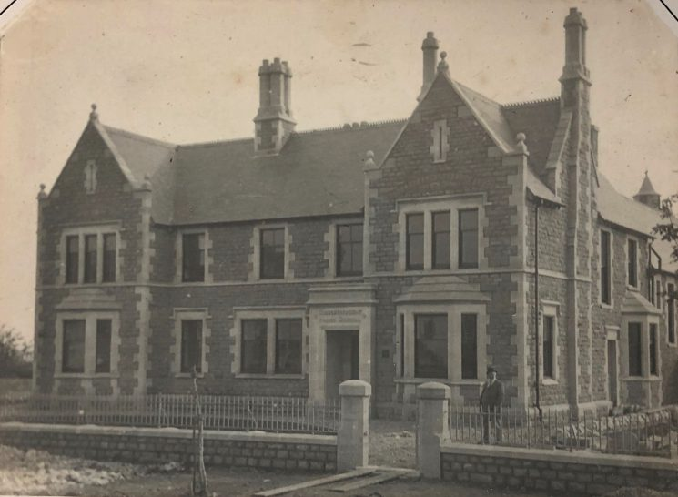 Staple Hill Police Station 1898. (Gloucestershire Police Archives URN 10489)