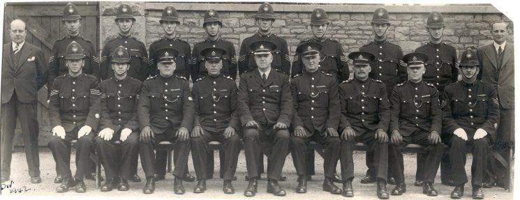 B Division ( Staple Hill) 1942 (Gloucestershire Police Archives URN 155)