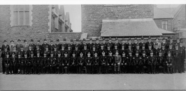Staple Hill Division 1950 (Gloucestershire Police Archives URN 594)