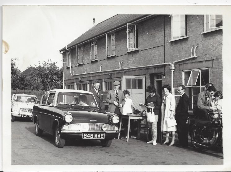 Thought to be a treasure hunt, this was a popular activity in the 1960s and 70s, at Staple Hill. (Gloucestershire Police Archives URN 9414)