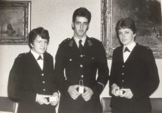 Presentation Award to Police Cadets 1978