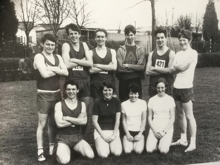 SW Region Cross Country Championships 1978. (Gloucestershire Police Archives URN 10521)
