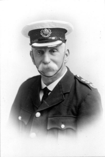 Superintendent and Deputy Chief Constable Arthur William Hopkins. (Gloucestershire Police Archives URN 10526)