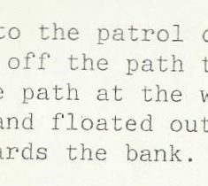 From the report submitted by Police Constable Simon Mills  about the incident. He had followed a disqualified driver and stopped him in Pittville Park. (Gloucestershire Police Archives URN 10511-6)
