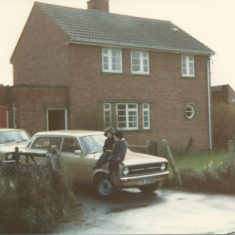 Staunton Police Station 1980s. (Gloucestershire Police Archives URN 10623)   Photograph from Richard Barton