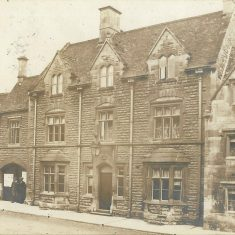Chipping Campden Police Station around 1910. (Gloucestershire Police Archives URN 10717)