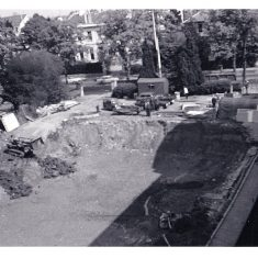 Construction of the new Holland House 1968. (Gloucestershire Police Archives URN 10729) | Photograph from Chris Raymer