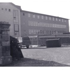 The building of Holland House Cheltenham 1968. (Gloucestershire Police Archives URN 10737) | Photograph from Chris Raymer