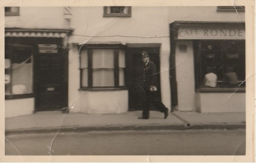 Police Constable  Newman thought to be in Newent. (Gloucestershire Police Archives URN 10741) | Photograph from Jenifer Hone